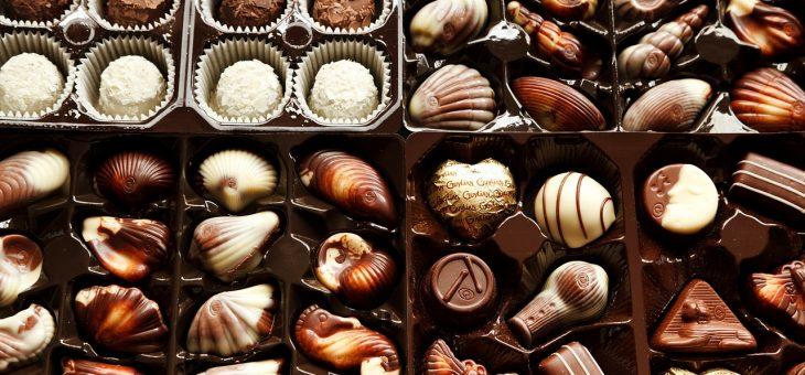 Se faire livrer du chocolat à l'occasion des grandes fêtes de famille